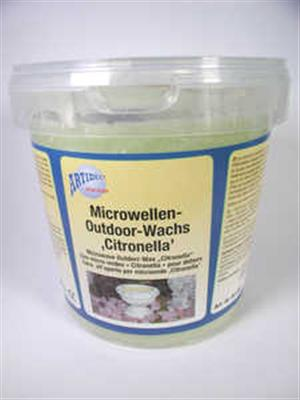 Mikrowellen Outdoor Wachs Citronella 3000 ml