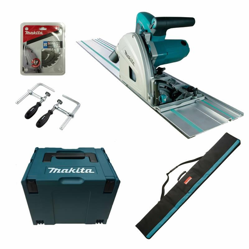 makita sp6000jsp1 sp6000 j sp1 makpac zwingen schiene tasche 2hm blatt tauchs ge ebay. Black Bedroom Furniture Sets. Home Design Ideas