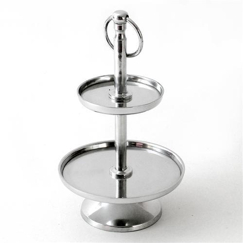etagere silber rund 2 oder 3 etagen 7 verschiedene varianten ebay. Black Bedroom Furniture Sets. Home Design Ideas