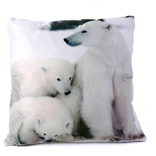 kissen tierkissen 45 x 45 cm deko pinguin wolf hirsch fuchs eichh rnchen ebay. Black Bedroom Furniture Sets. Home Design Ideas