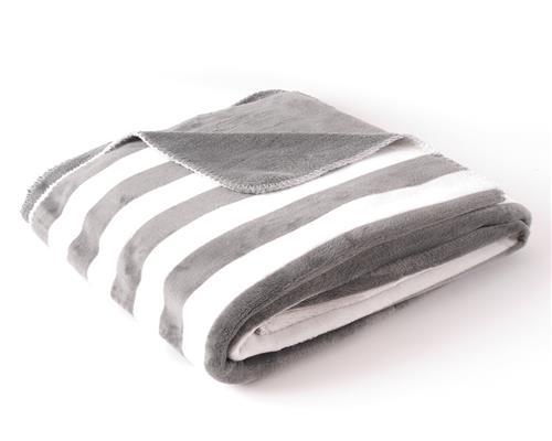 microfaser decke flanell kuscheldecke sterne streifen. Black Bedroom Furniture Sets. Home Design Ideas