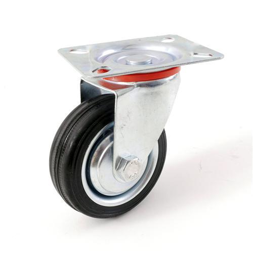 transportrollen bockrollen lenkrollen mit bremse 75 100. Black Bedroom Furniture Sets. Home Design Ideas
