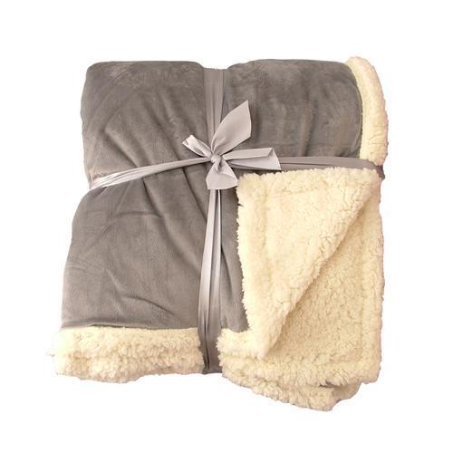 decke felldecke in lammfelloptik kuscheldecke 150 x 200 cm sofadecke ebay. Black Bedroom Furniture Sets. Home Design Ideas