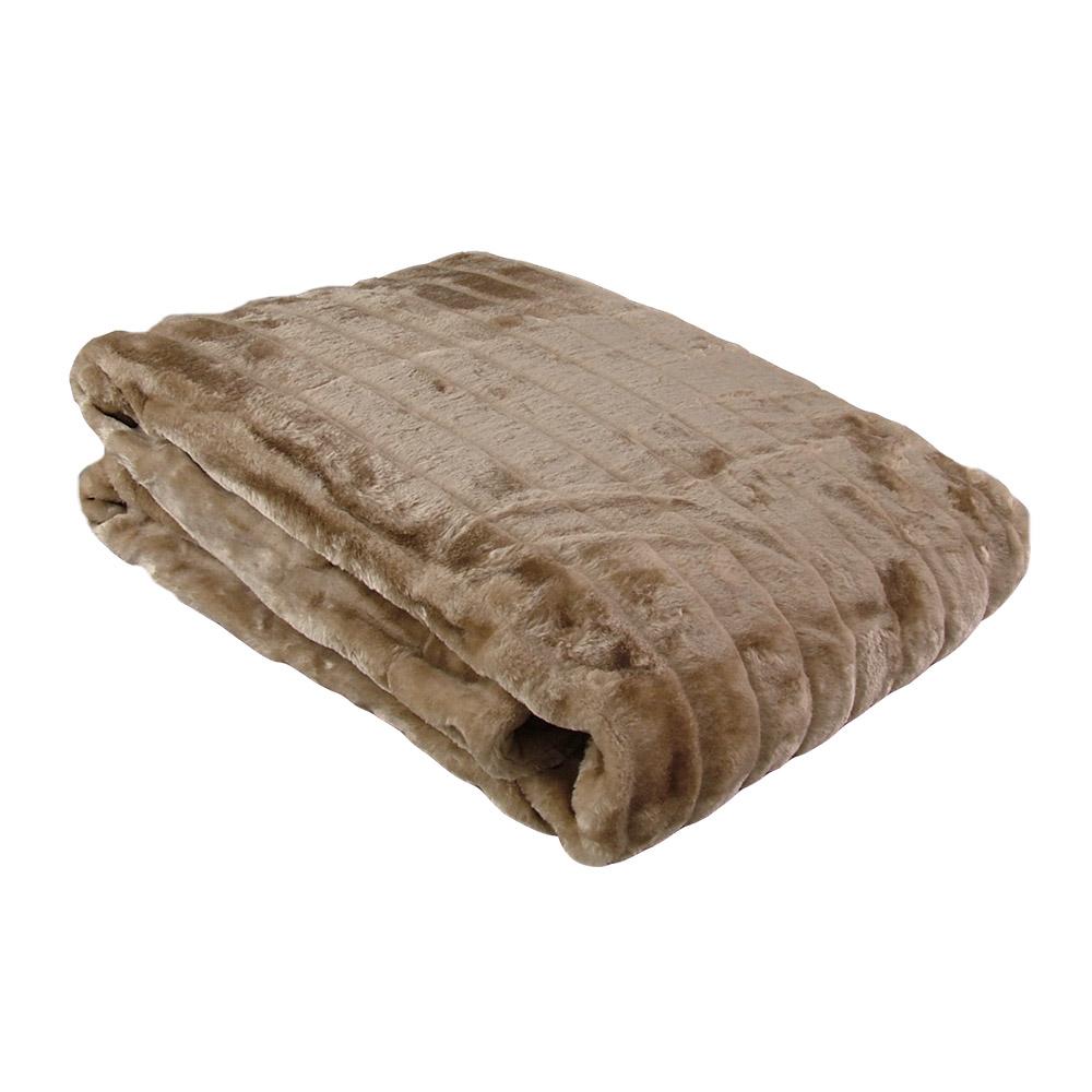 decke felldecke in nerzoptik 150 x 200 cm decke tagesdecke sofadecke felloptik ebay. Black Bedroom Furniture Sets. Home Design Ideas