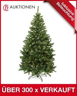 k nstlicher weihnachtsbaum mit beleuchtung tannenbaum. Black Bedroom Furniture Sets. Home Design Ideas