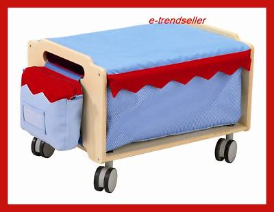haba 2724 bi ba box m rollen stapel boxen aufbewahrung kinder zimmer ebay. Black Bedroom Furniture Sets. Home Design Ideas