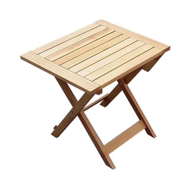 3tlg buche holz gartenm bel bistroset balkonset ge lt klappbar gm3 60x60hb ebay. Black Bedroom Furniture Sets. Home Design Ideas
