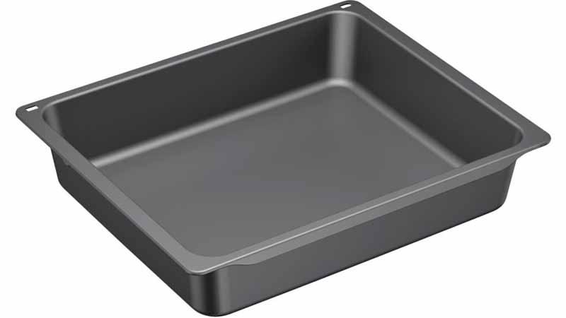Bosch 17002603-HEZ533000 Profi-Pfanne//Blech grau emailliert für Backofen