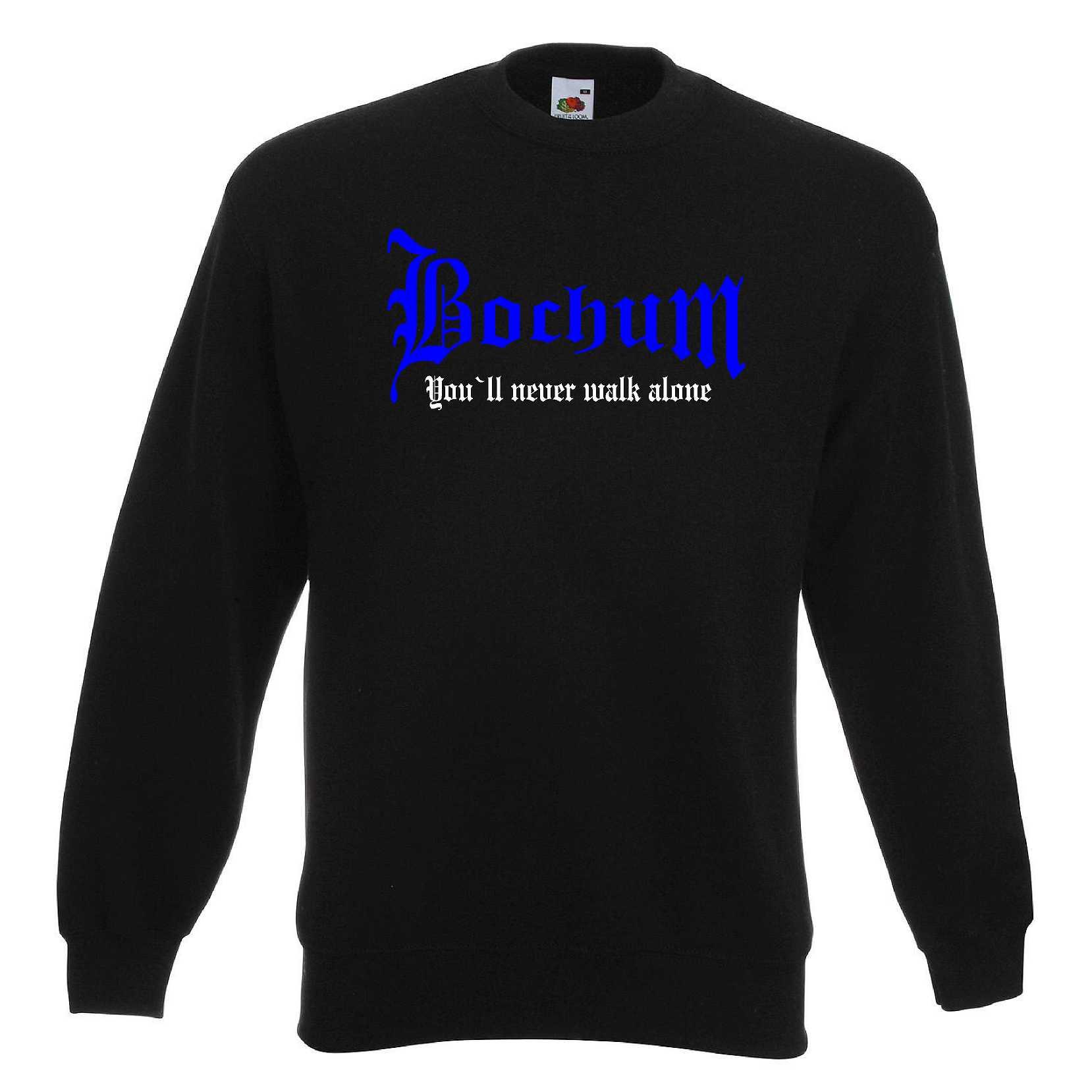 Bochum Herren Sweatshirt You`ll Never Walk Alone