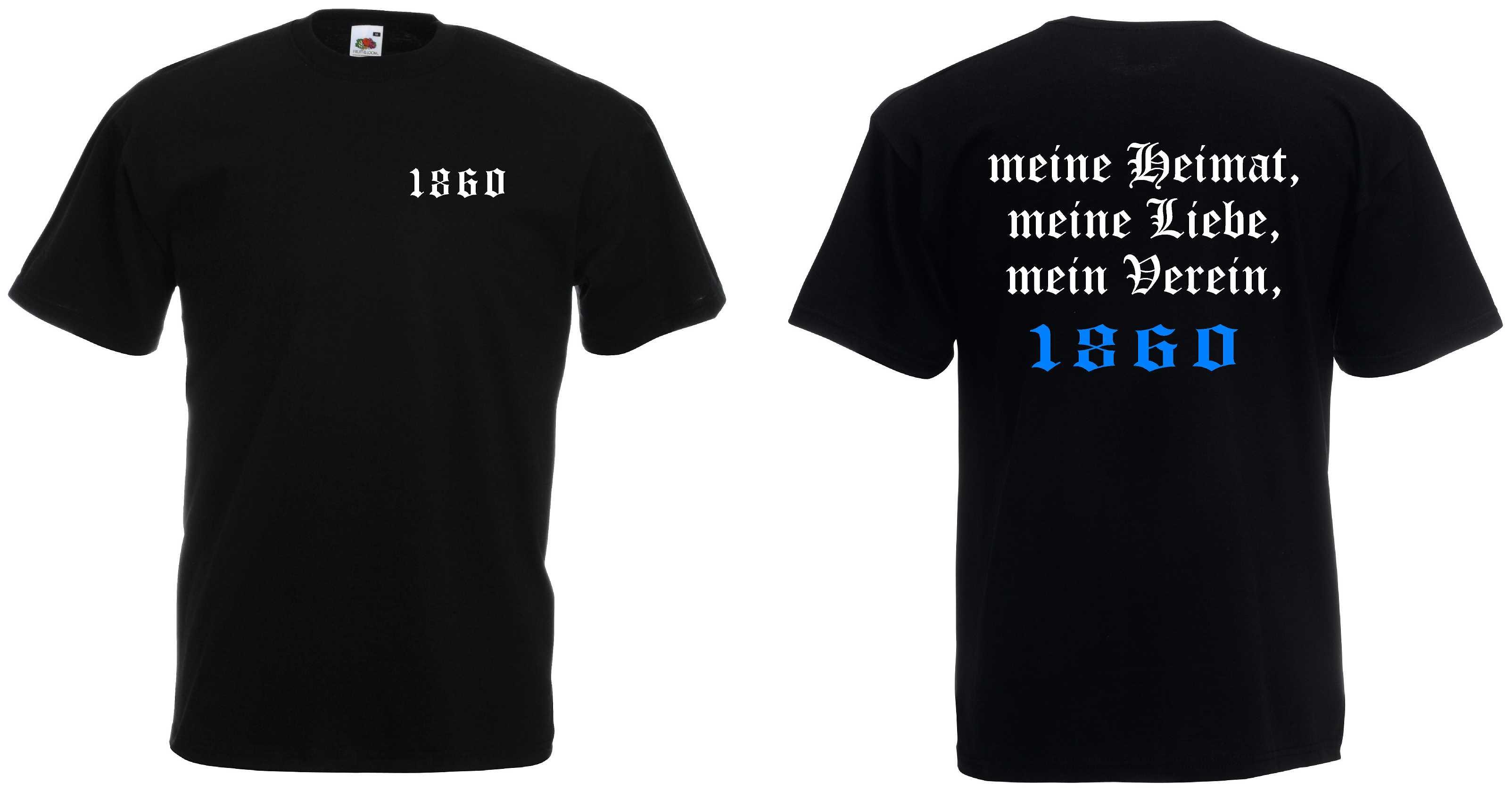 1860 Meine Heimat Mein Verein Ultras T Shirt Ebay