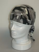 Bandana Army Look, Fleece grau 903