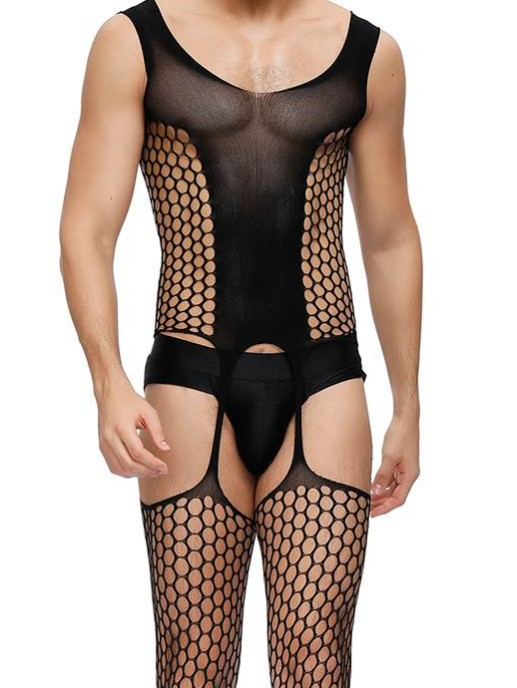 Fishnet Body ouvert FNB03