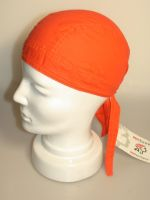 Bandana Bikertuch uni orange No.512