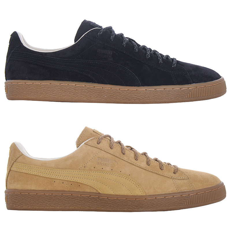 puma basket classic leather sneakers