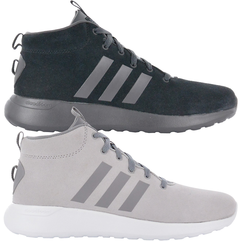 a8a07a51ad Details about Adidas Cloudfoam Lite Racer mid Cf Shoes Men s Leather  Sneakers Leisure New