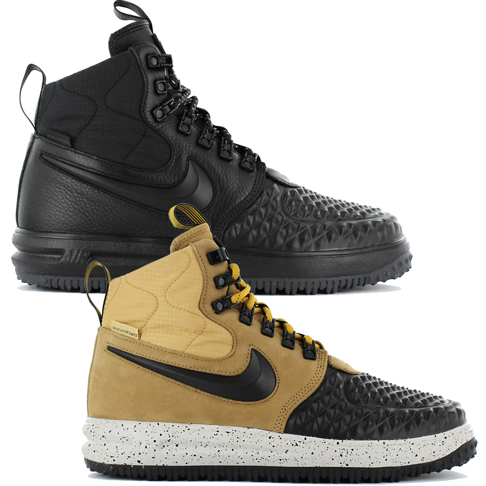 huge discount 0565b a3a49 Details about Nike Lunar Force 1 Duckboot 17 Men s Shoes High Sneaker  Leather Air LF1 Special