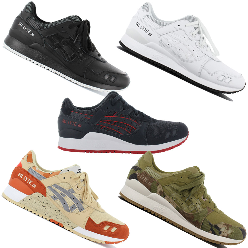 8585ff4fb3aa Details about Asics Tiger Gel-Lyte III 3 Men s Sneakers Shoes Leisure Shoe  Leather Textile