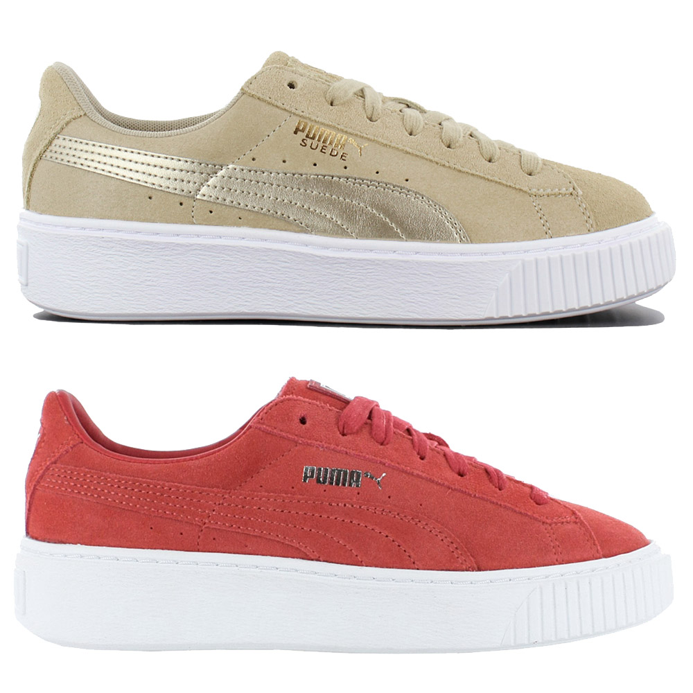ea9dfc4a268e48 Details about Puma Suede Platform Women s Sneakers Casual Shoes Leather  Trainers