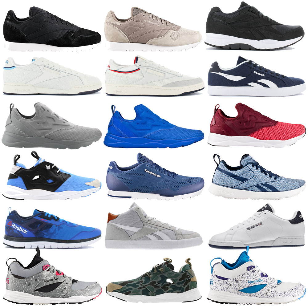 Details about Reebok Classic Trainer Mens Shoes Casual Sneakers Leather NPC Fan show original title