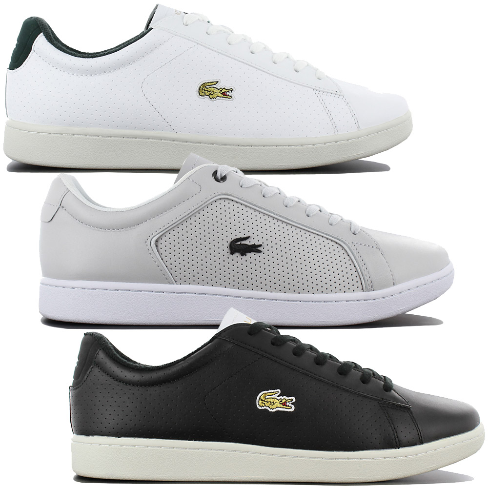 1e03267a1377 Details about Lacoste Carnaby Evo 317 2 Leather Men s Shoes Leather Sneaker  Leisure Shoe