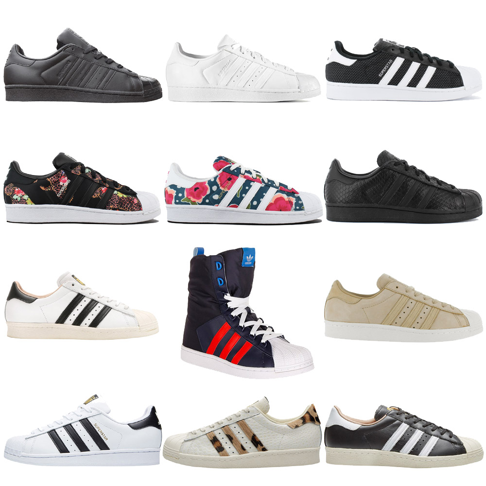 e5bfc0bb9b10 Details about Adidas Superstar W Ladies Sneaker Shoes Casual Trainers  Originals 2 New Sale