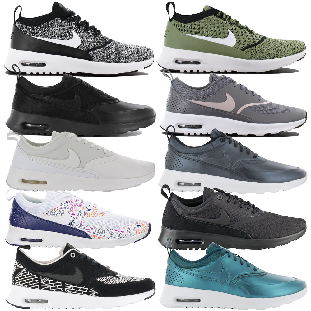 06b5189cd5 Details about Nike Air Max Thea Ladies Sneaker Shoes Ultra Premium Trainers  Flyknit Leather