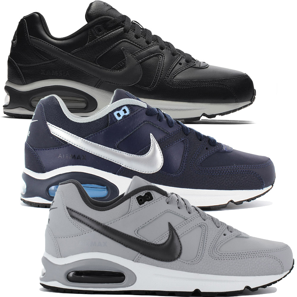 official photos 37af5 ac9e3 Nike Air Max Command Leather Baskets Hommes Chaussures de Sport Skyline 90  Neuf