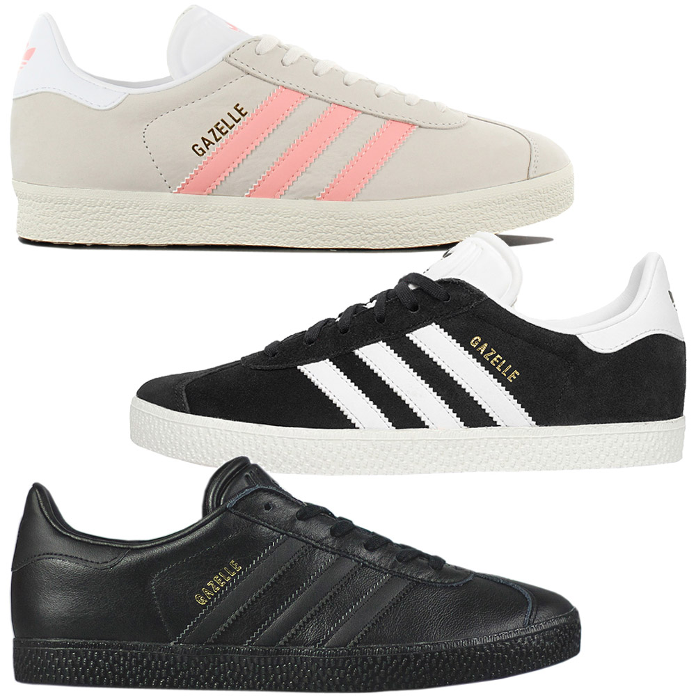 2e4d652243eafc Details about Adidas Originals Gazelle W-Women s Trainers Shoes Leather  Trainers Retro New