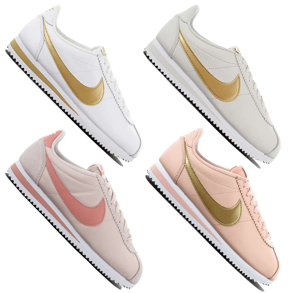 0851eb212bec Nike Classic Cortez Ladies Sneaker Shoes Casual Trainers Sports Shoes New