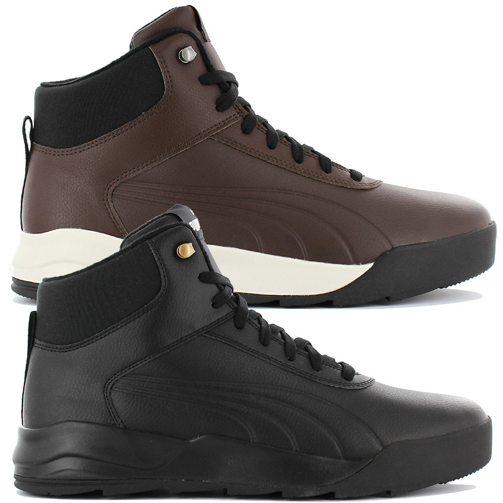 nouveau style 45b37 048db Details about Puma Desierto Sneaker Leather Men's Winter Boots Boots Shoes  Leather New