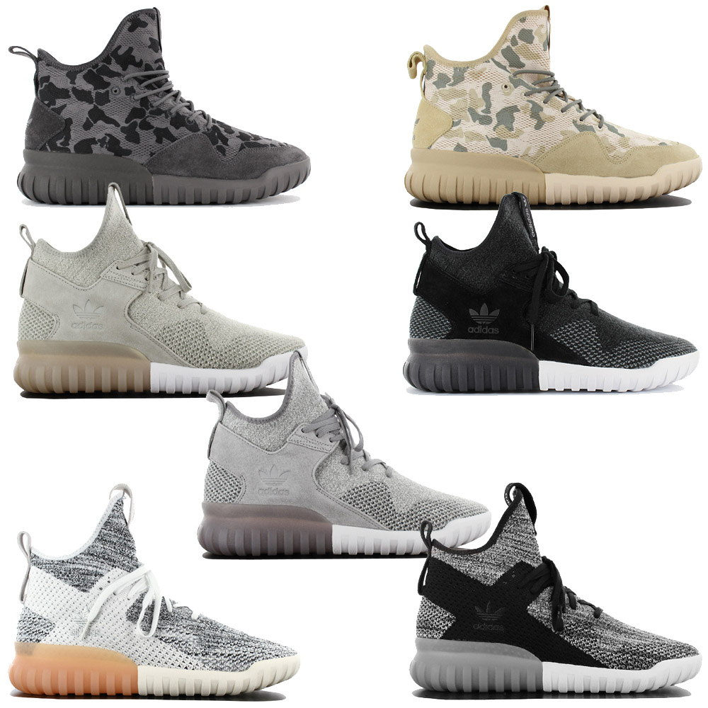 6b34d80bc4f7 Details about Adidas Originals Tubular x mid Sneaker Fashion Shoes Sneakers  Trainers New