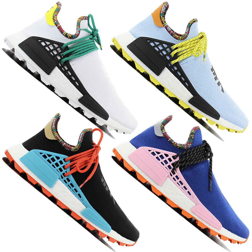 outlet store ca95f 5c5ae Details about Adidas Human Race Nmd Pw Pharrell Williams Solar Hu -  Inspiration Pack - Shoes