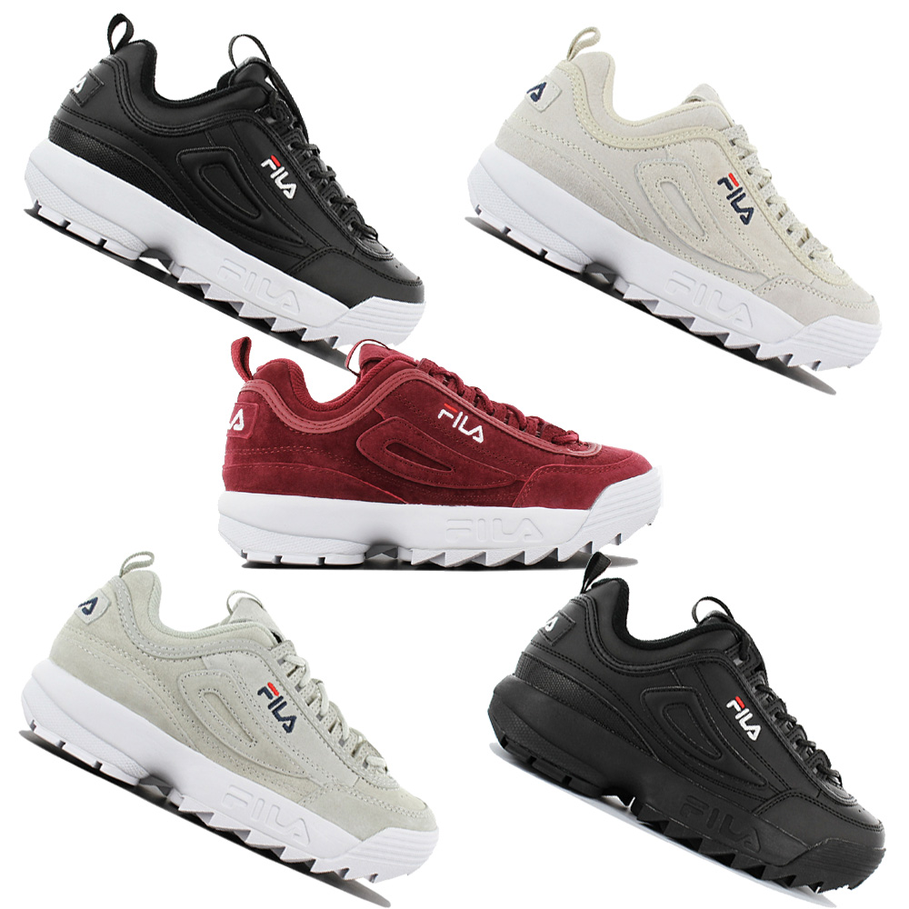 Details about Fila Disruptor Low Women's Fashion Sneakers Trainers Sports Shoes