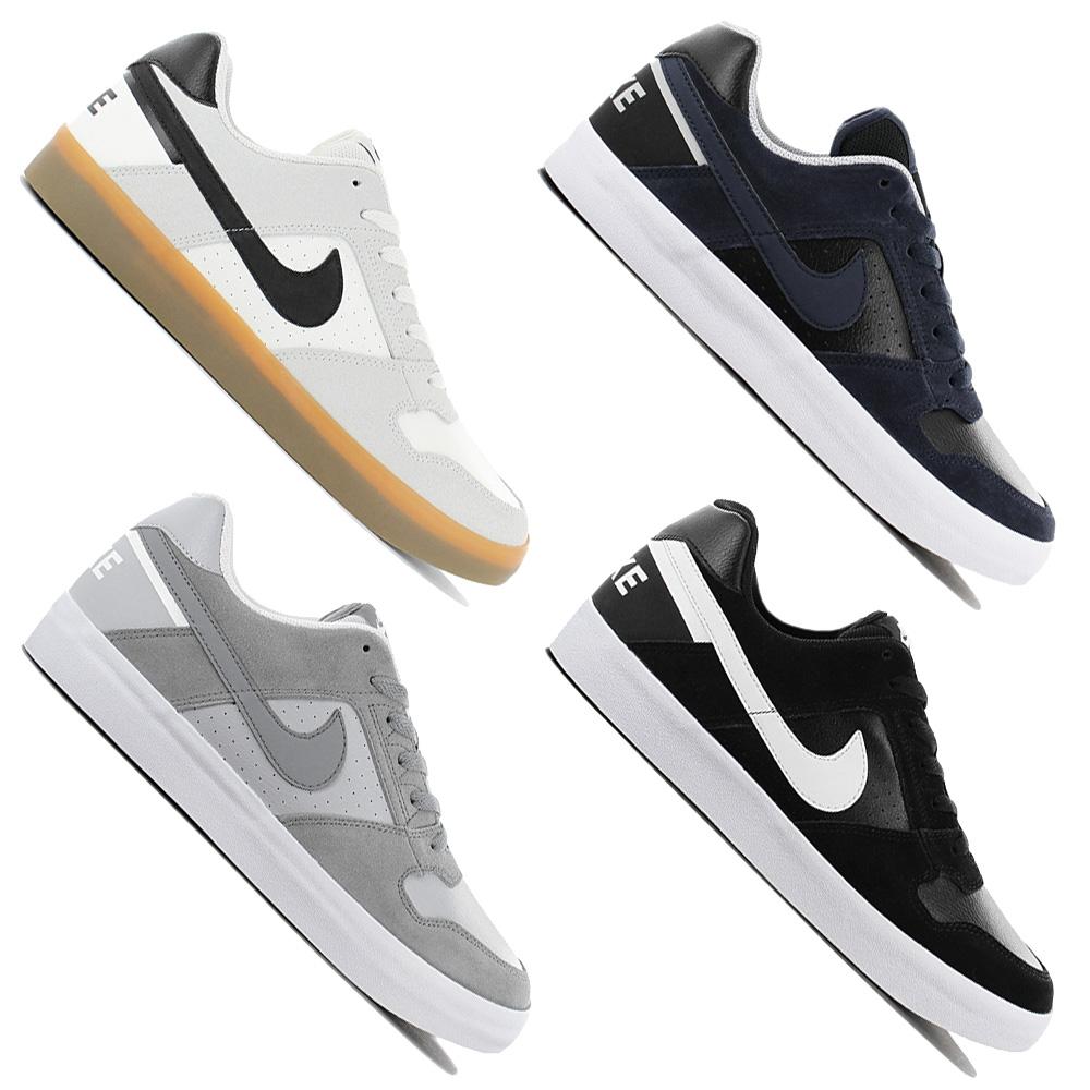 Nike Sb Delta Force Vulc Men's Sneaker 942237 001 Skate Shoes Skate Shoes New