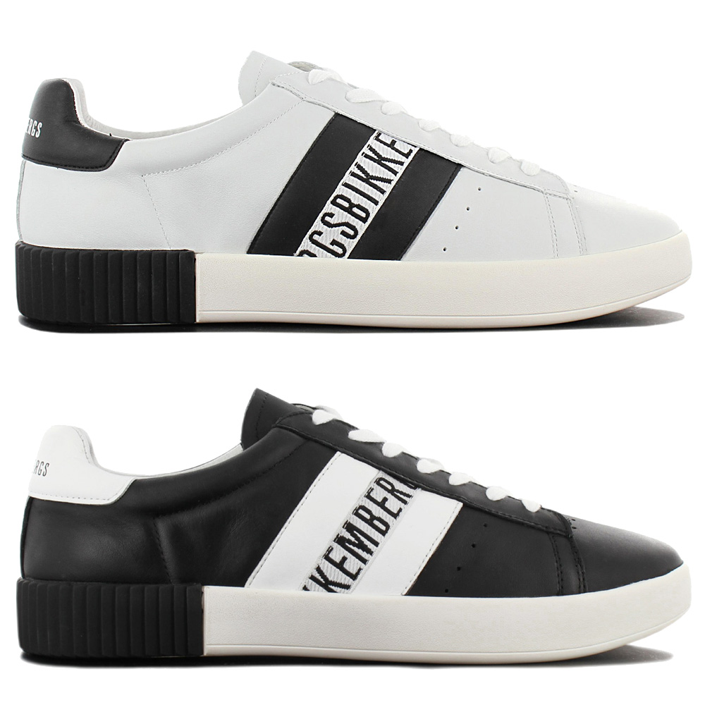 Details about Bikkembergs Cosmos 2434 Sneaker Men's Fashion Shoes Leather Sneakers Leisure