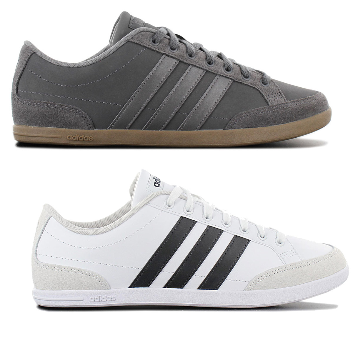 Details about Adidas Caflaire Sneaker Men's Leather Casual Shoes Trainers Sports Shoes New