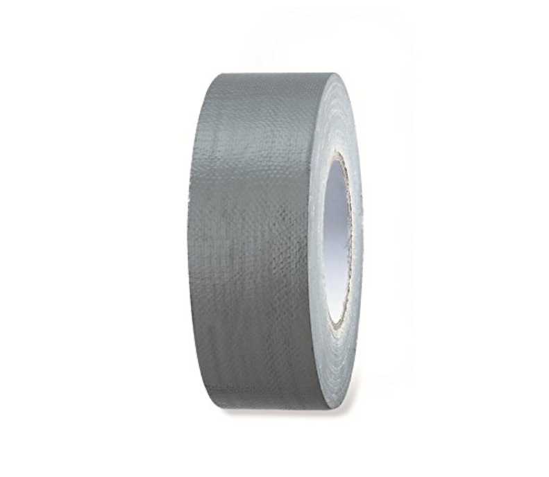 Color Expert Gewebeband, 36 mm x 50 m Reparaturband, Power-Tape Silber, 96213810