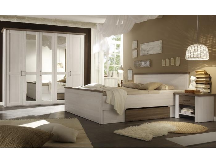 Schlafzimmer luca komplettset kleiderschrank doppelbett - Schlafzimmer luca ...