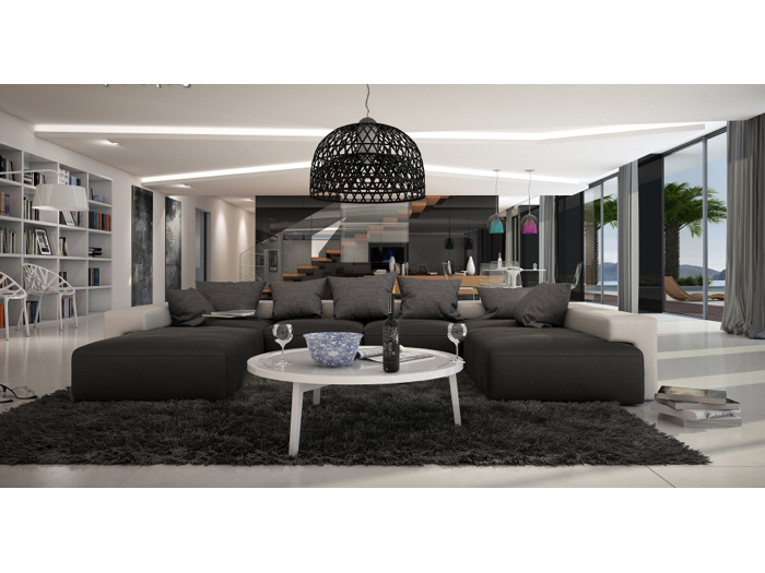Wohnlandschaft Saheel Innocent Sofa Loungesofa Couch Lounge 109977