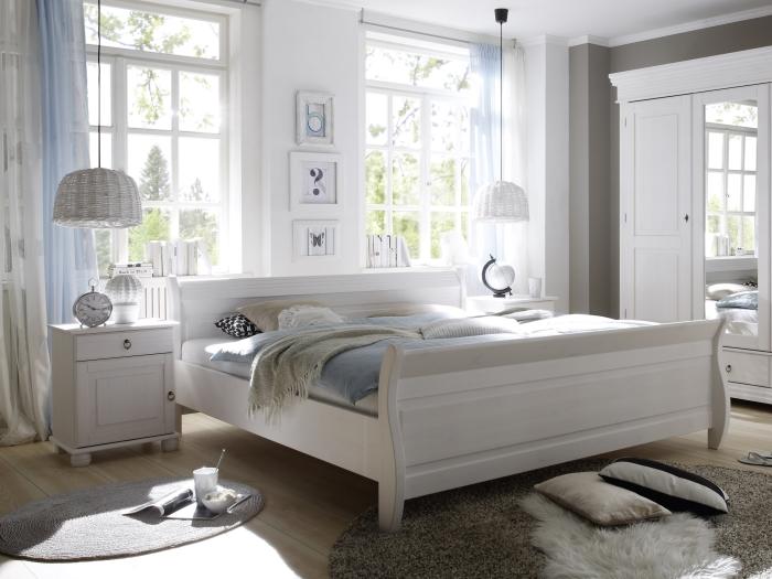 Schlafzimmer oslo komplett schlafen kleiderschrank doppelbett nachttische 110297 ebay - Schlafzimmer oslo ...