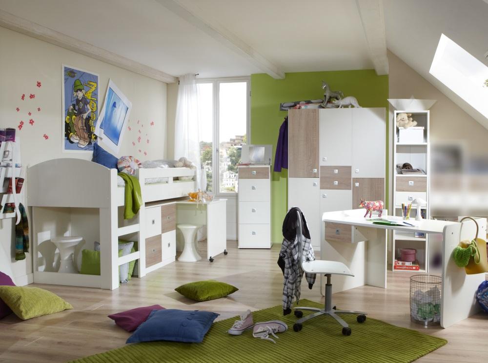 Jugendzimmer - Möbel Set komplett für Mädchen und Jungen ...