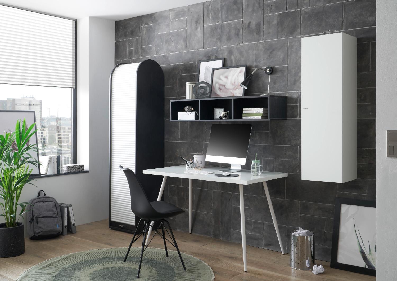 Büromöbel Big Office Weiß Graphit