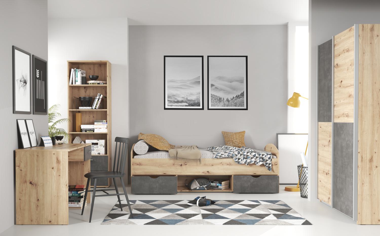 Jugendzimmer Lupo 7 teilig komplett von Forte
