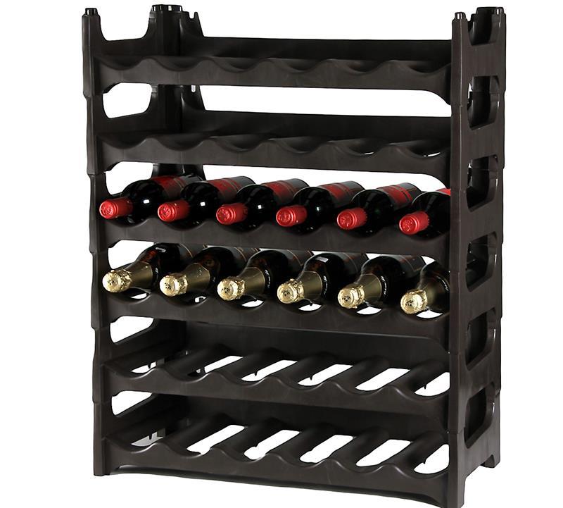 FLASCHENREGAL BAROLO für 30 Flaschen Metaltex® WEINREGAL