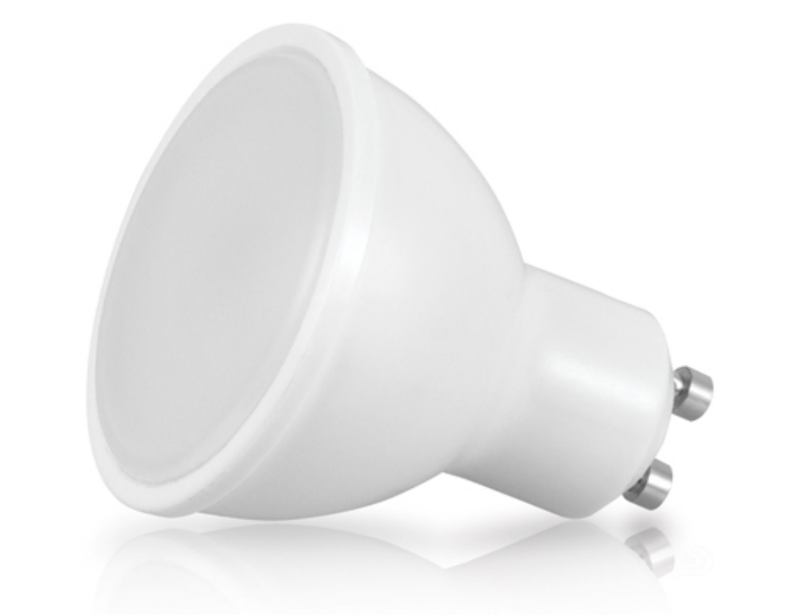 LED Spot GU10 matt - 8W warmweiß