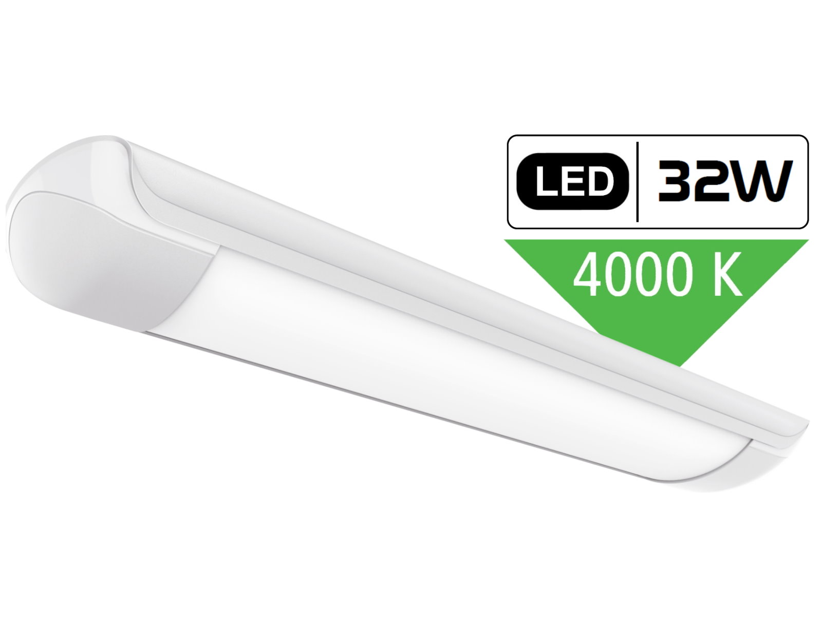 LED Wannenleuchte - 32W tagesweiß
