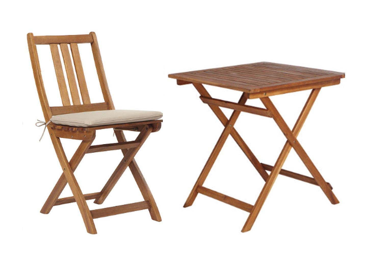 gartenm bel gartengruppe tisch st hle akazienholz inkl auflage 9 tlg 7150072. Black Bedroom Furniture Sets. Home Design Ideas