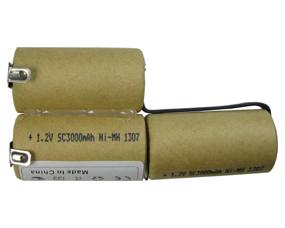 2500-00.630 AKKU 3000mAh 3,6V//3,7V Ni-MH ersetzt Gardena Accu 3