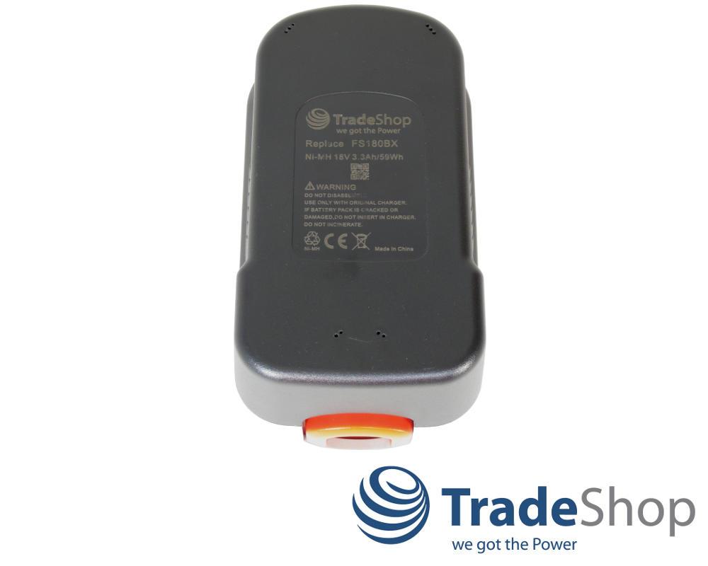 Batterie 18v 3300mah ni-mh pour Black /& Decker gkc1820l//lb glc2500 glc1825l//lb gpc1800
