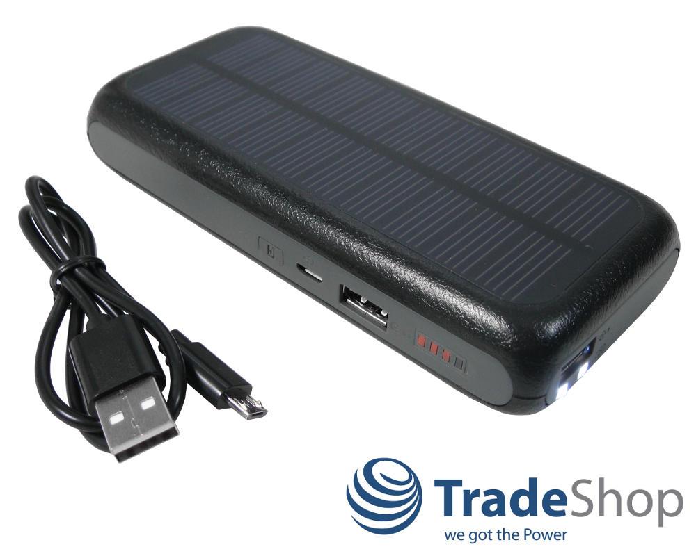 dual usb solar ladeger t 10000mah universal akku extern